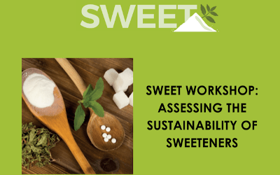 Novel Sustainability Approach Applied to Sweetener Use in Foods